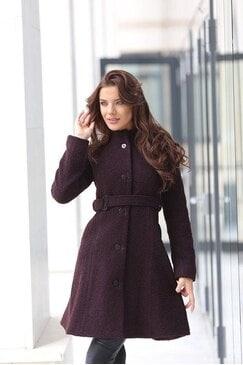 Стилно зимно палто BORIANA