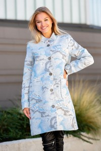 Стилно дамско палто GREYSTAR