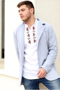 Стилна мъжко сако ADRIAN