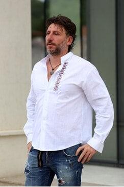 Елегантна мъжка риза KRIS