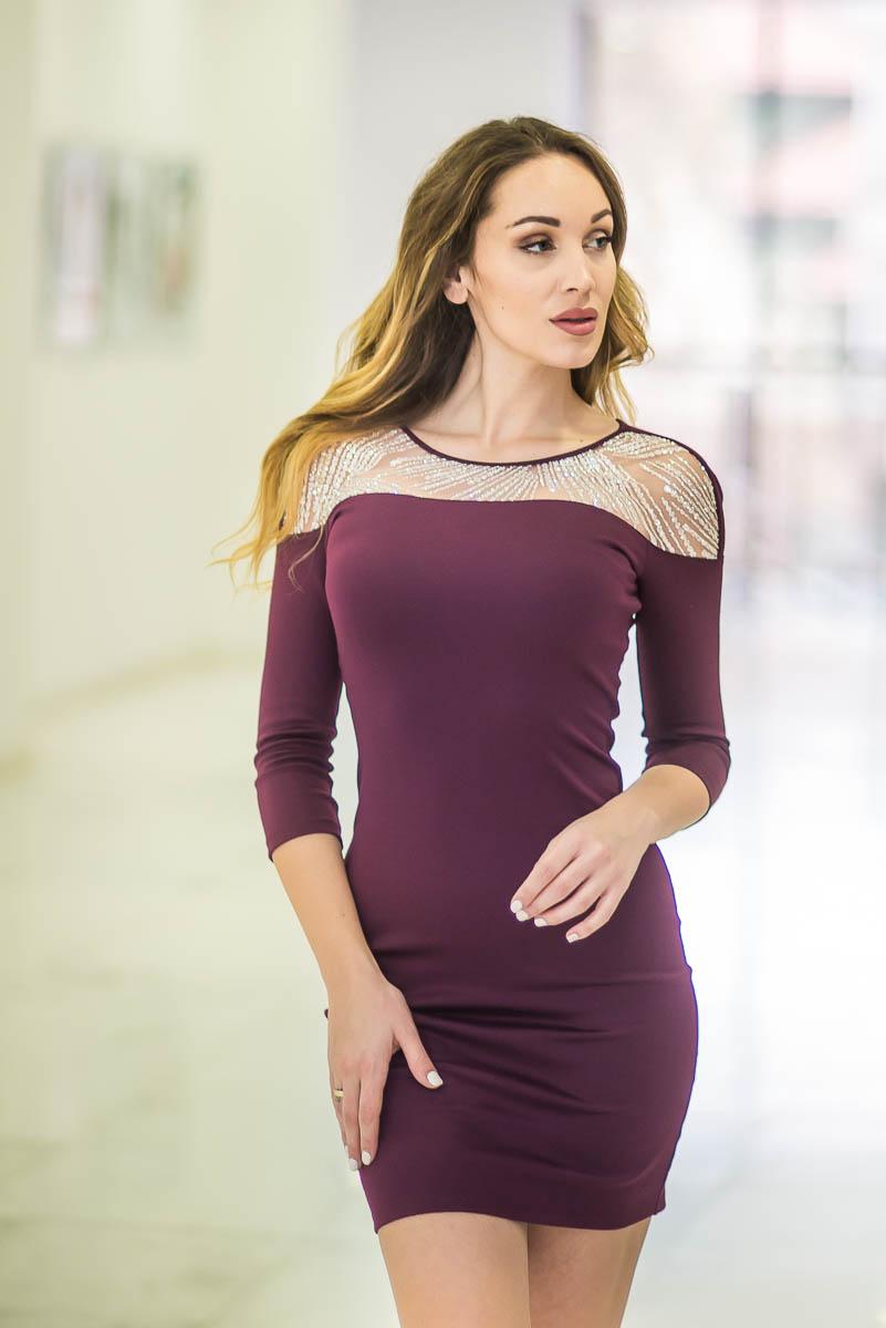 Дамска рокля ALESSA RED